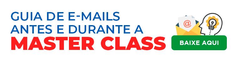 banner no post criar cursos online sobre guia de e-mails durante a masterclass